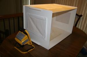 Lightbox Side View