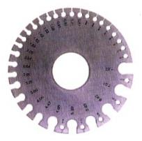 Wire Gauge - Jewelry Tool