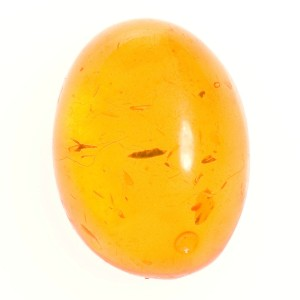 Synthetic Amber Cabochon