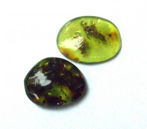 Genuine Green Amber from Lithuania