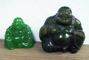 The difference between nephrite and jadeite.