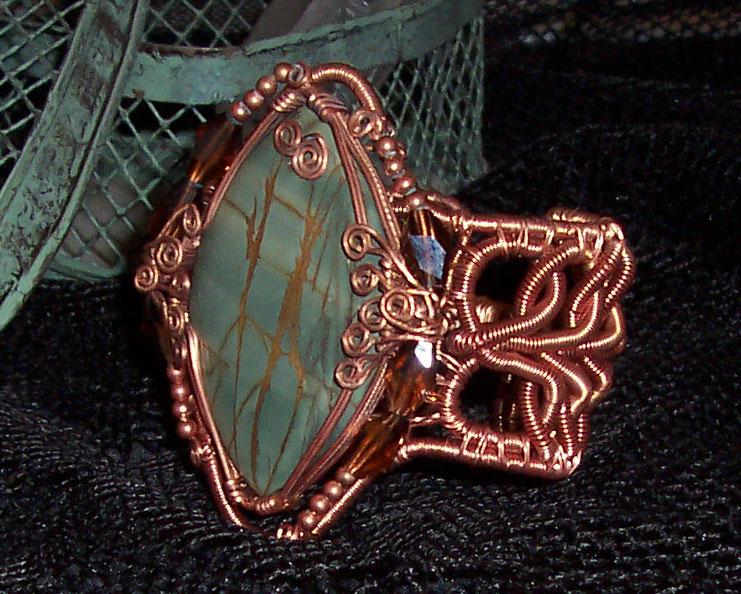 Copper Jasper Bracelet