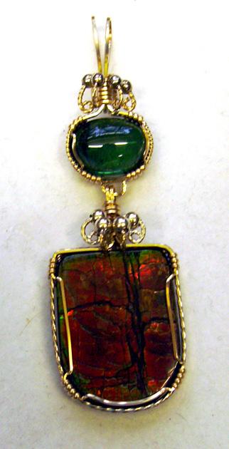 Opal ammolite