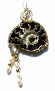 Pyritized Split Ammonite