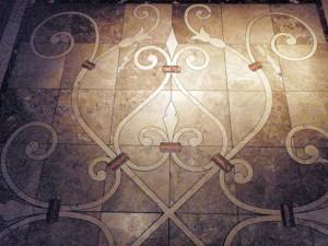 Ironwork tile