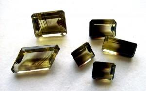 citrine smoky quartz stones