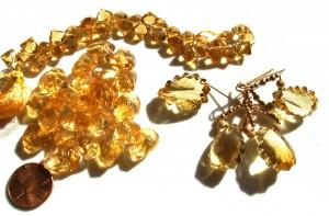 citrine beads and citrine jewelry