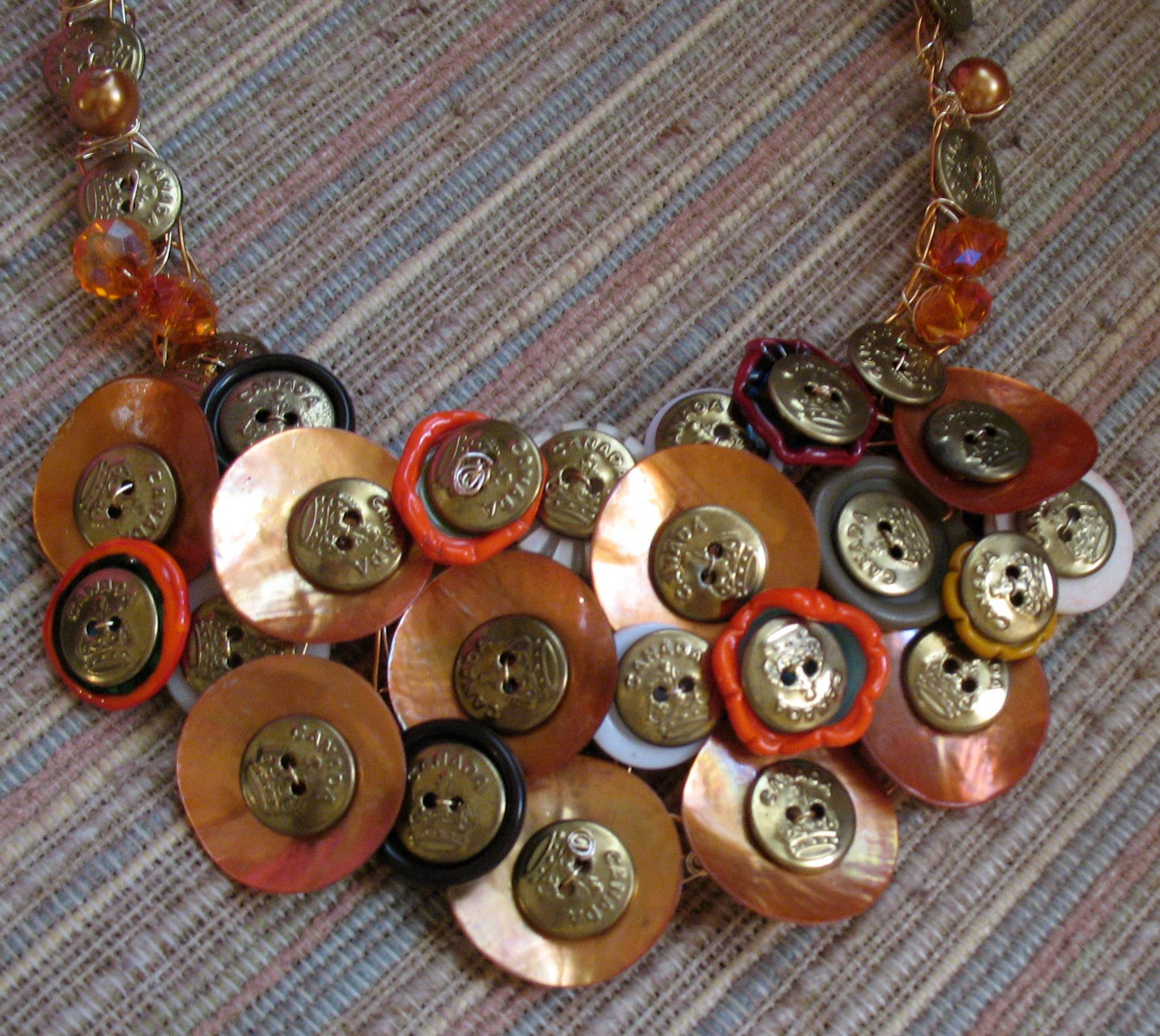 Wire jewelry idea wired buttons jewelry making blog information wired buttons greentooth