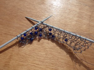 Wire knitting