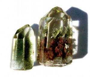 Chlorite included quartz in Dale's collection