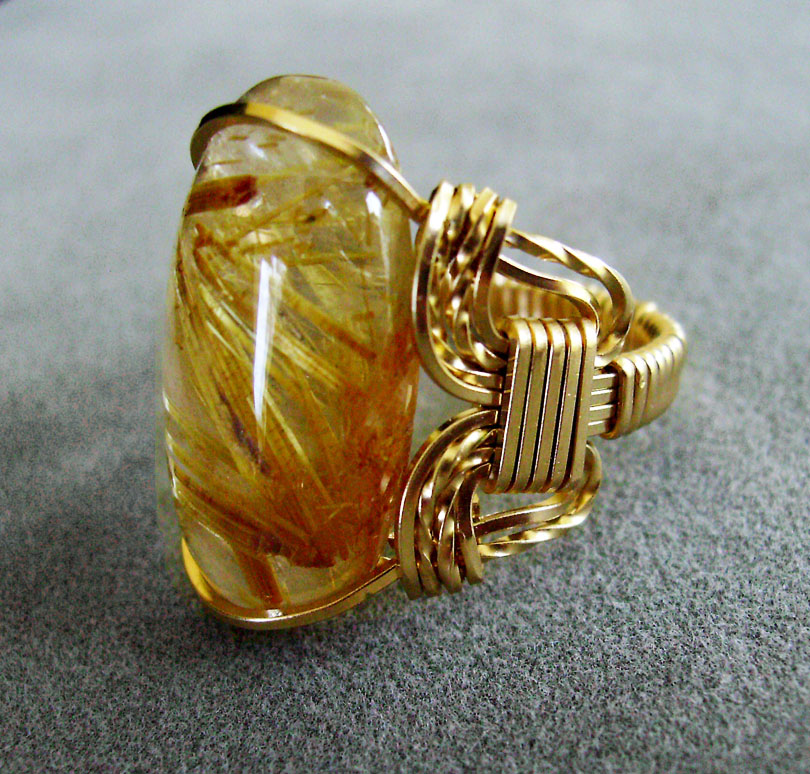 Golden Rutilated Quartz Jewelry Of What 39 S In Rutilated Quartz Quartz With Inclusions Part