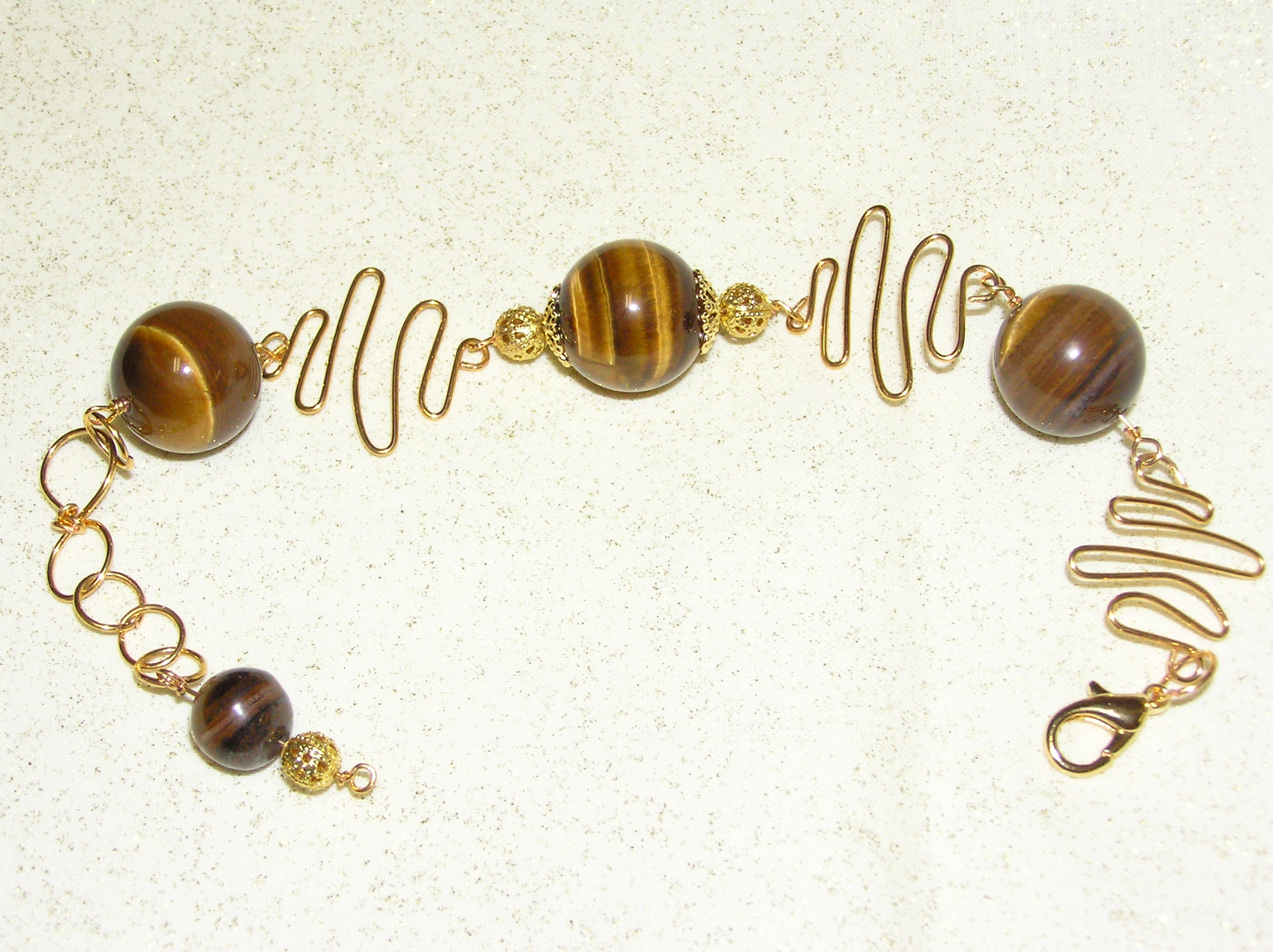 natural donut pendant beads beautiful tiger eye gemstone pin sold individually eyes bead