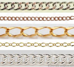 Curb chain jewelry chain
