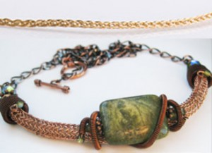 Viking Knit Jewelry Chain Examples