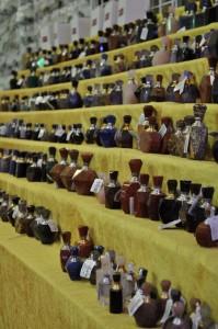 Gem perfume bottles at JOGS in Tucson