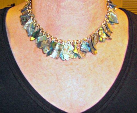 Australian Shell Necklace by Karen McCoun