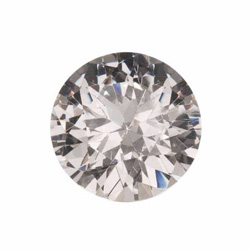 Cubic zirconia diamond for wire wrapping