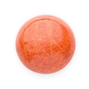 Red Sponge Coral Cabochon