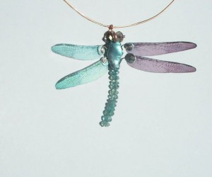 Apatite dragonfly by Magan Weid