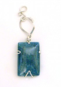 Apatite Pendant by Terri McMahon of Sirius Jewelry