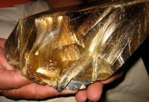 Golden Rutilated Quartz