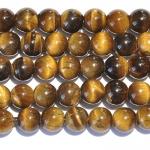 Tiger Eye Large Hole Beads