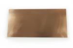 Copper sheet metal.