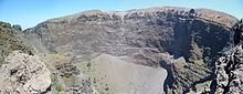 The crater of Vesuvius in 2012