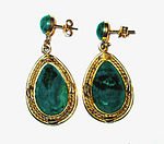 Eilat stone earrings