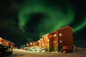 Northern lights over Nuuk Greenland. Photocourtesy of Anders Skov Hansen. Greenland tourism