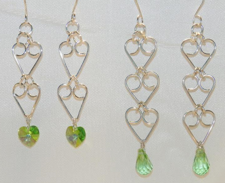 Heart and Briolette Earrings   Jewelry Making Blog   Information ...