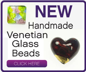 Click Here for Handmade Venetian Glass Beads
