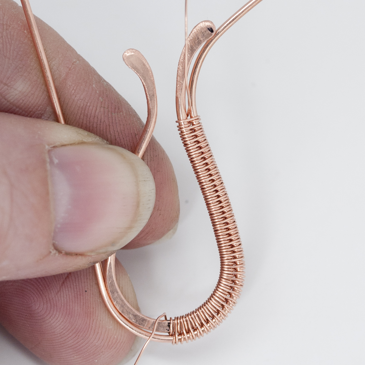 weaving long lengths of wire jewelry making blog