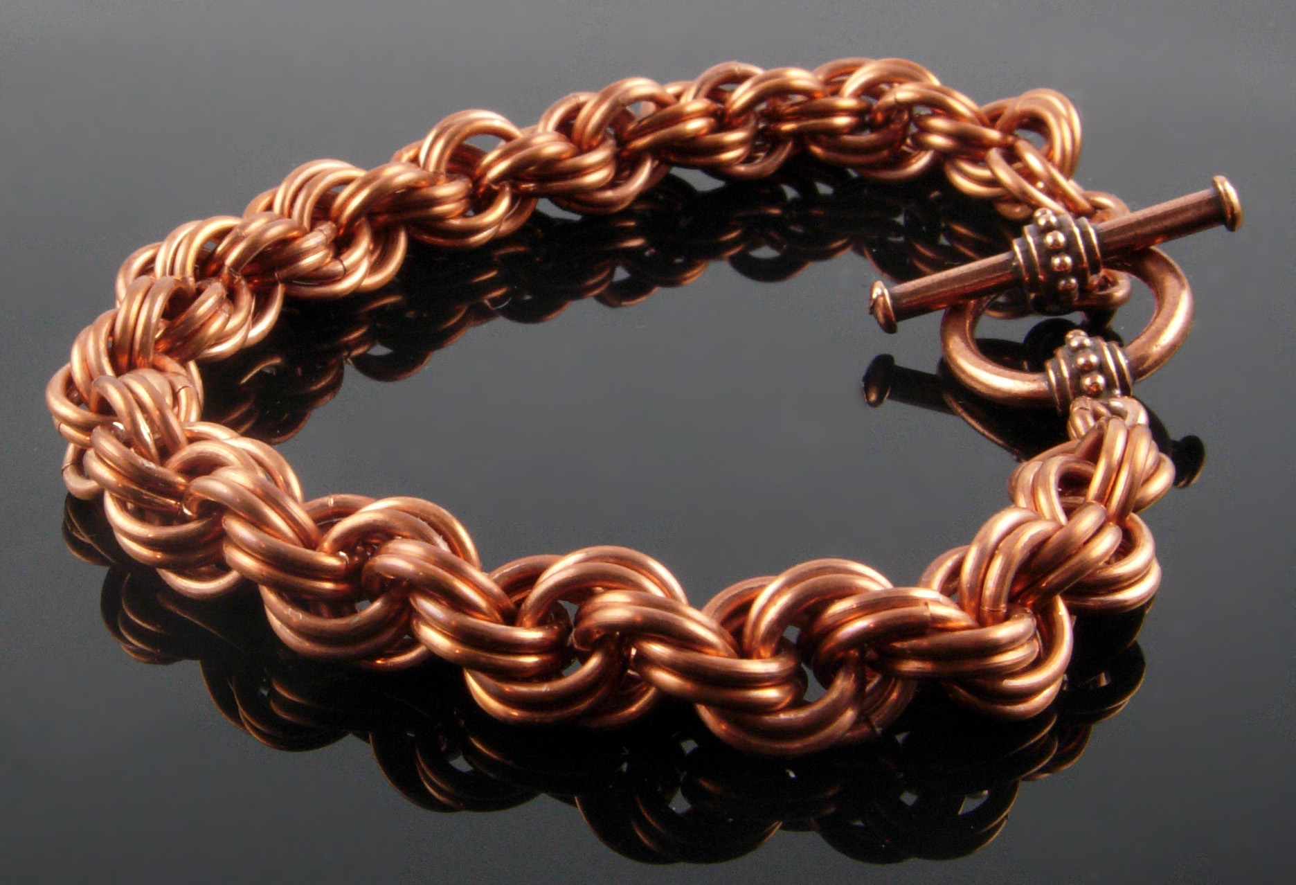 Top 5 Weaves for Chain Mail Beginners | Jewelry Making Blog ...