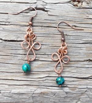 Celtic Wig Jig Earrings Jewelry Making Blog
