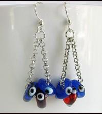 chain&Bead earrings-2