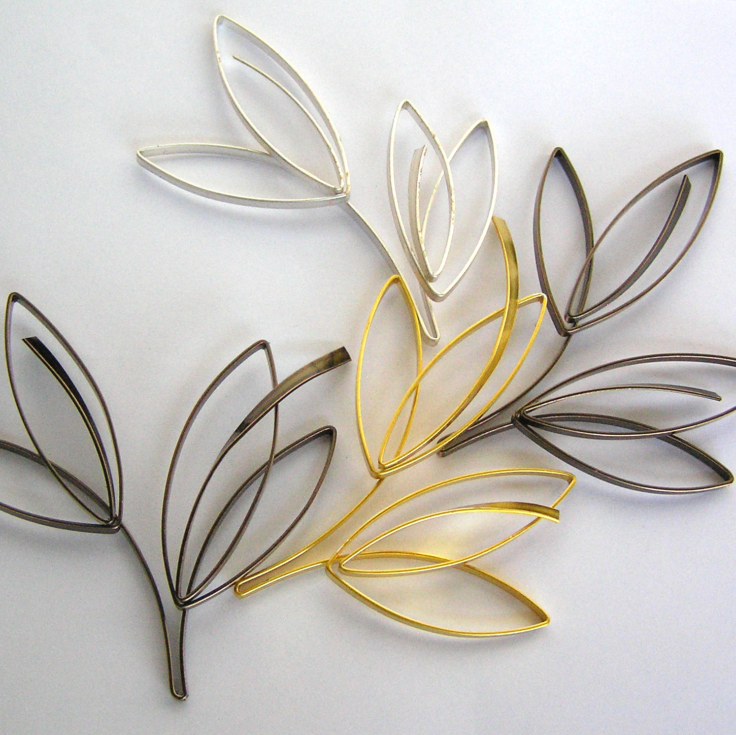 Free Pattern: Sketch Style Wire Leaf | Jewelry Making Blog ...