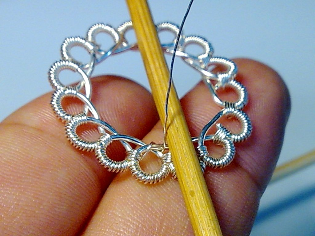 Create Beautiful Wire Crochet with No Special Tools ...