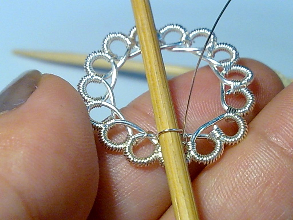 Create Beautiful Wire Crochet With No Special Tools Jewelry