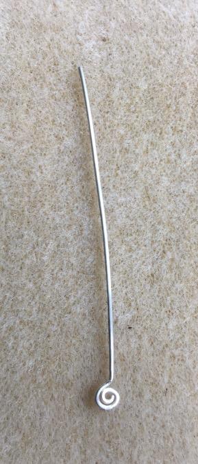 spiral headpin