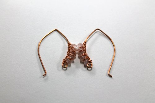 Free Pattern Embellished Artisan Ear Wires By Abby Hook